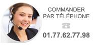Commander par téléphone
